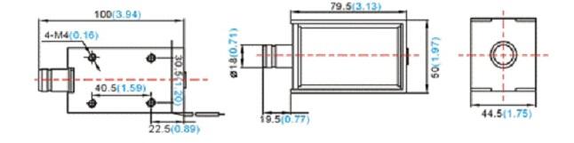 电磁铁_推拉式电磁铁_框架式电磁铁-u1879